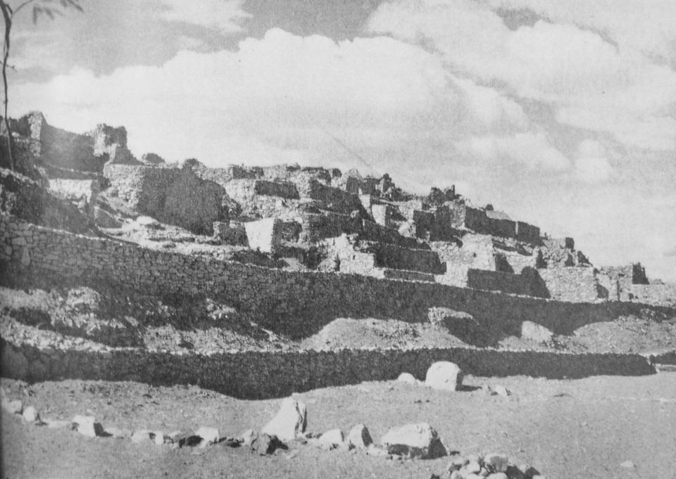 Enterreno - Fotos históricas de chile - fotos antiguas de Chile - Pucará de Lasana en 1969