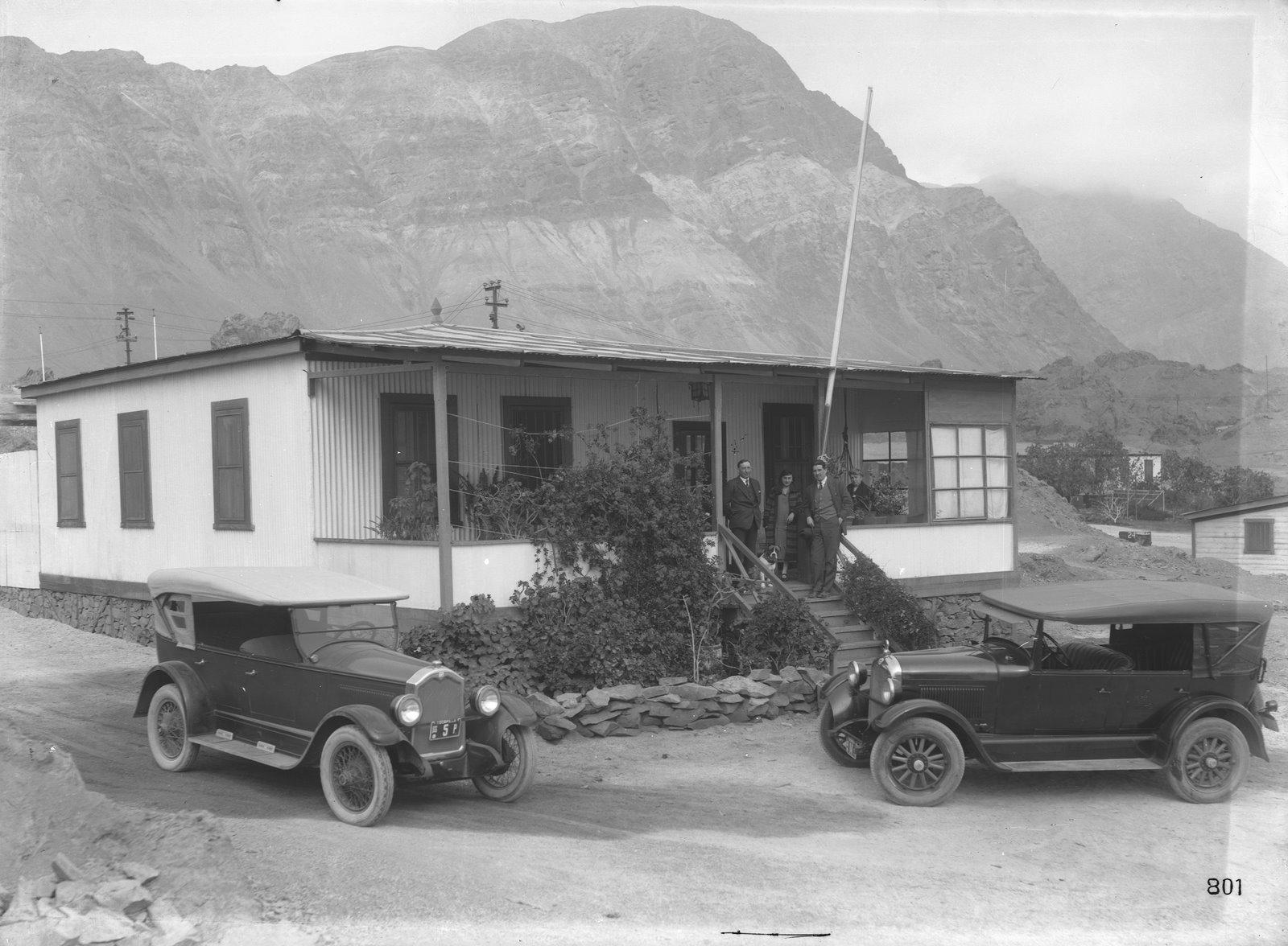 Enterreno - Fotos históricas de chile - fotos antiguas de Chile - Tocopilla en 1925