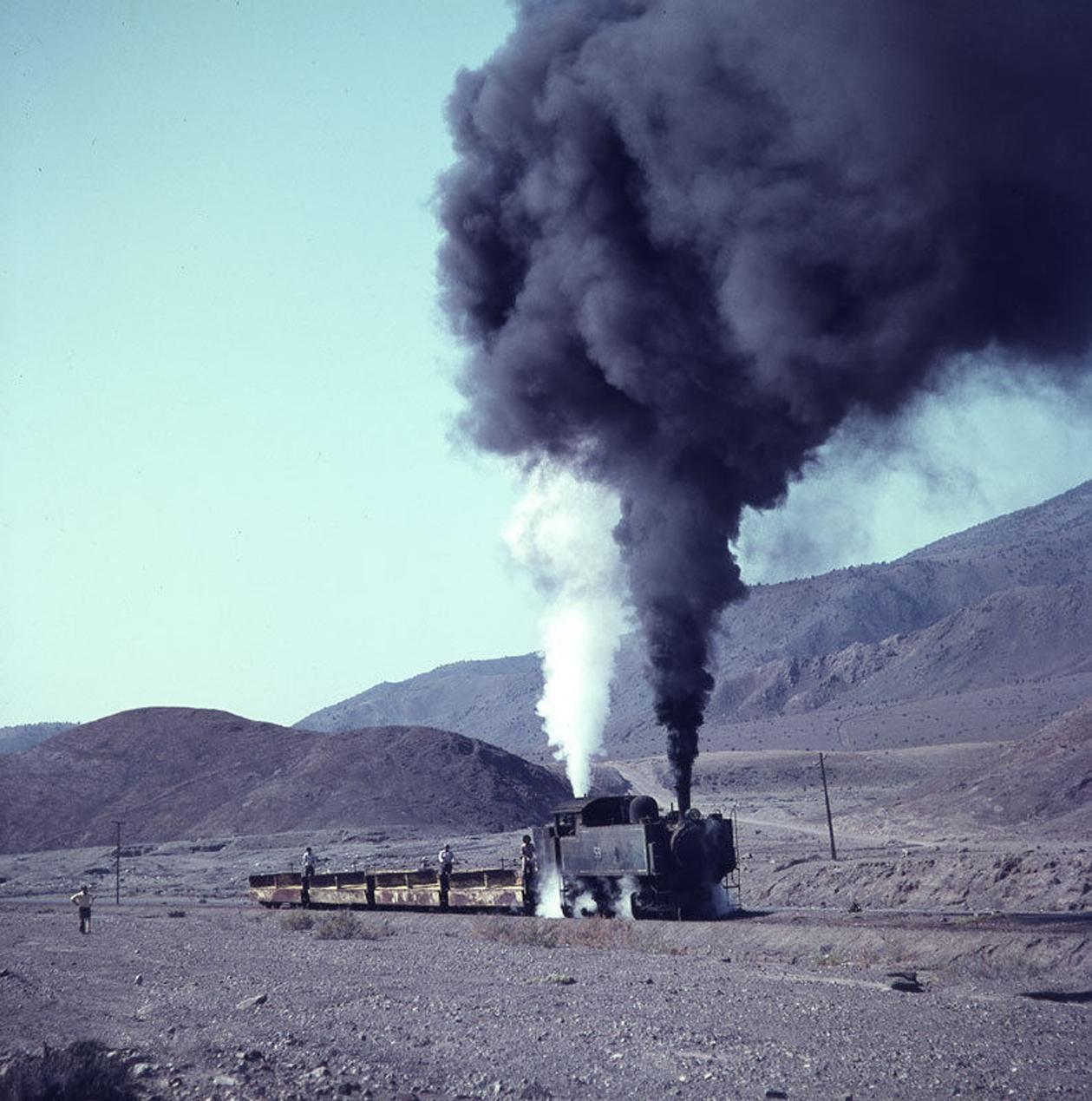 Enterreno - Fotos históricas de chile - fotos antiguas de Chile - Locomotora Kitson-Meyer Nº 59 en 1979