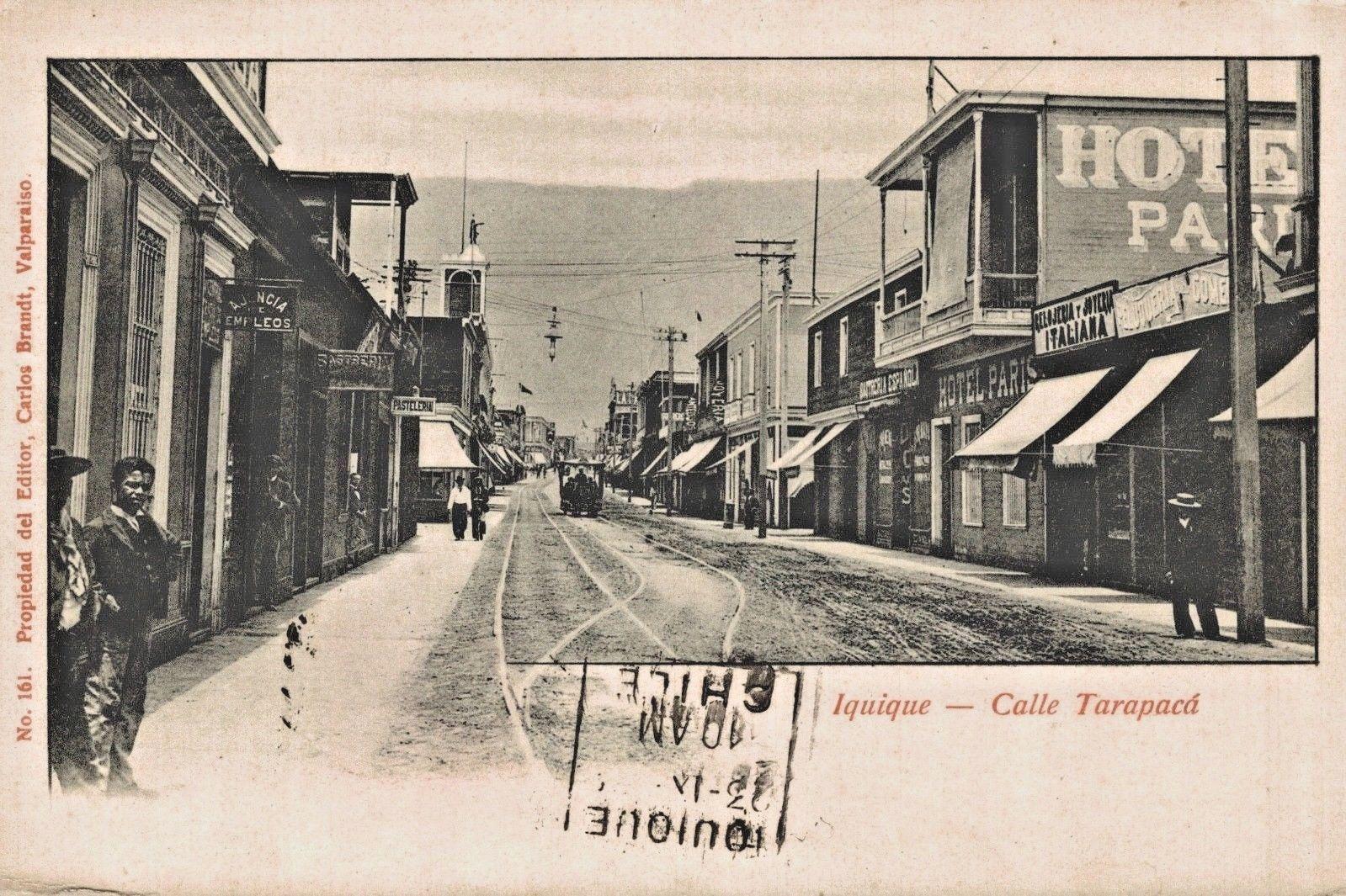 Enterreno - Fotos históricas de chile - fotos antiguas de Chile - Iquique en 1910