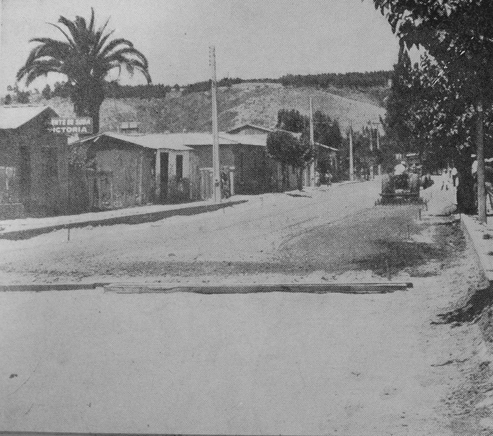 Enterreno - Fotos históricas de chile - fotos antiguas de Chile - Camino Cartagena - Malvilla en 1968