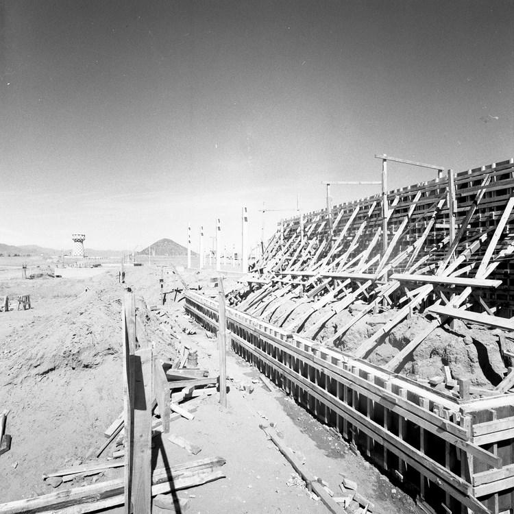 Enterreno - Fotos históricas de chile - fotos antiguas de Chile - Planta Insa de Coquimbo en 1971