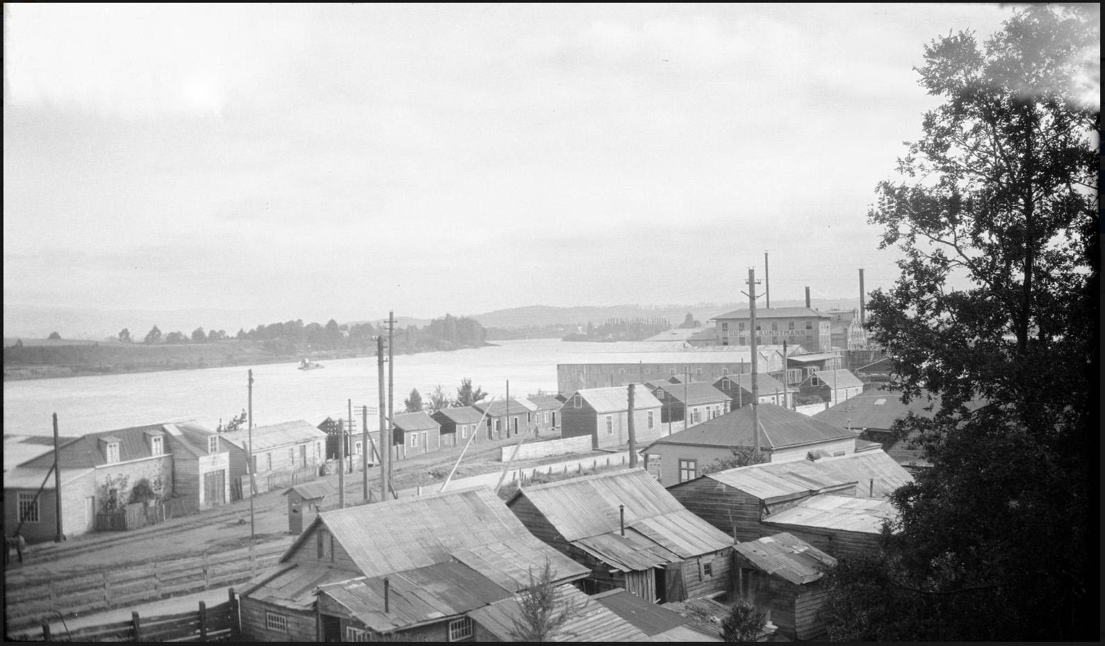 Enterreno - Fotos históricas de chile - fotos antiguas de Chile - Valdivia en 1930