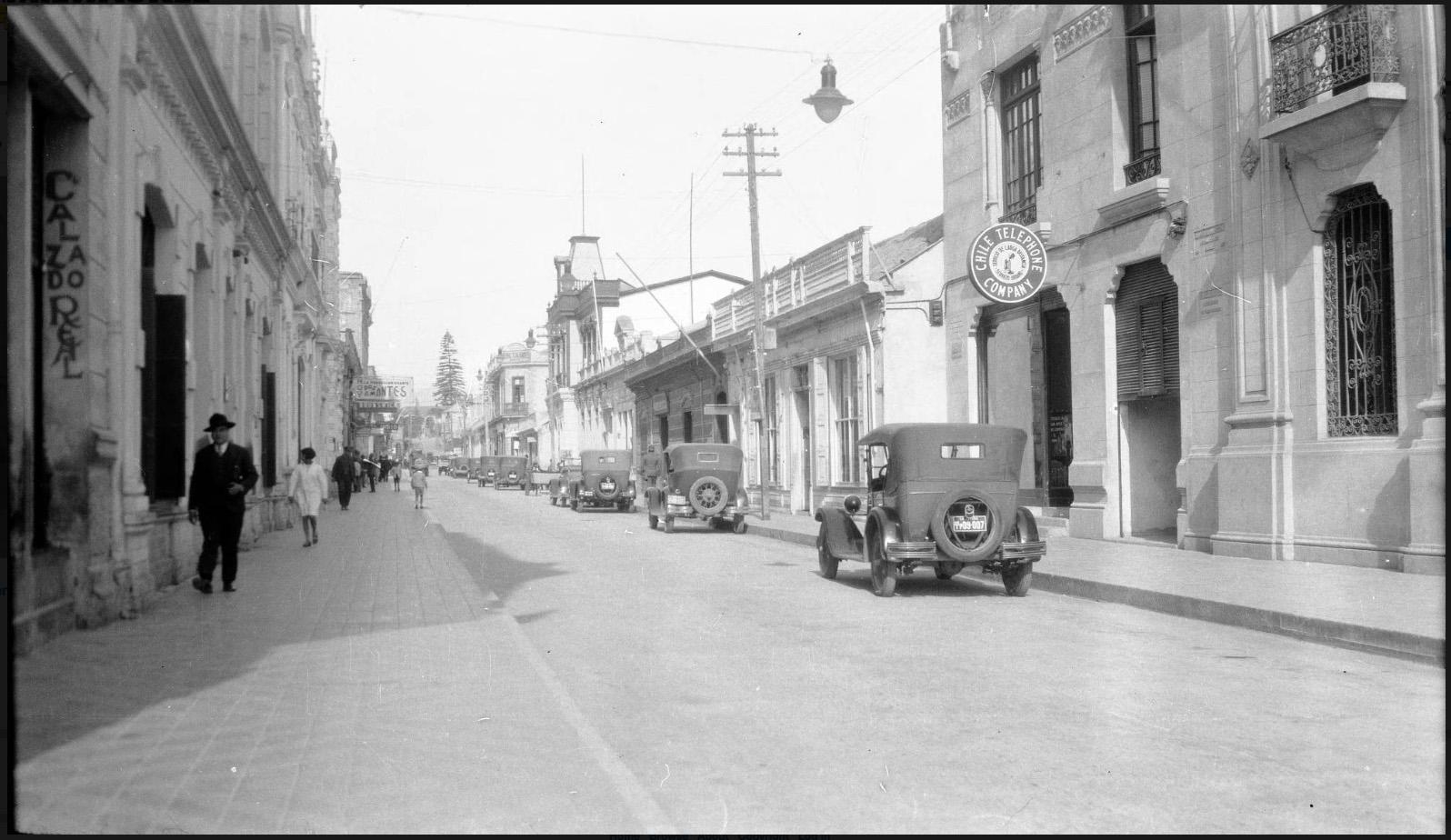 Enterreno - Fotos históricas de chile - fotos antiguas de Chile - La Serena en 1930