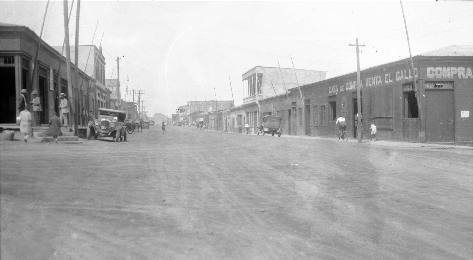 Enterreno - Fotos históricas de chile - fotos antiguas de Chile - Tocopilla en 1928