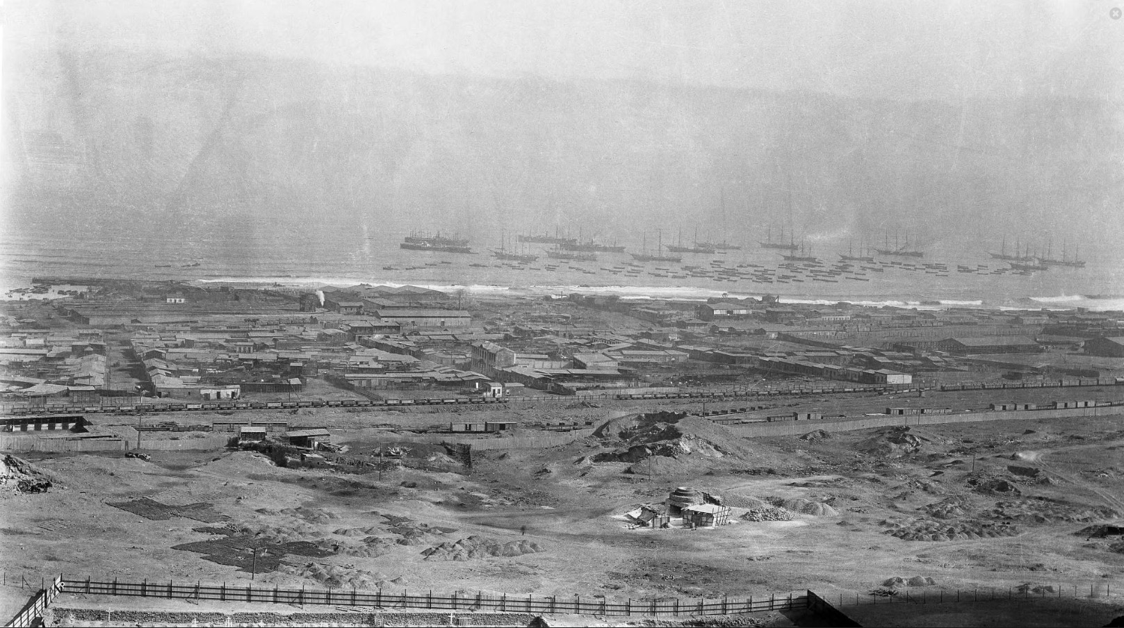 Enterreno - Fotos históricas de chile - fotos antiguas de Chile - Antofagasta en 1913