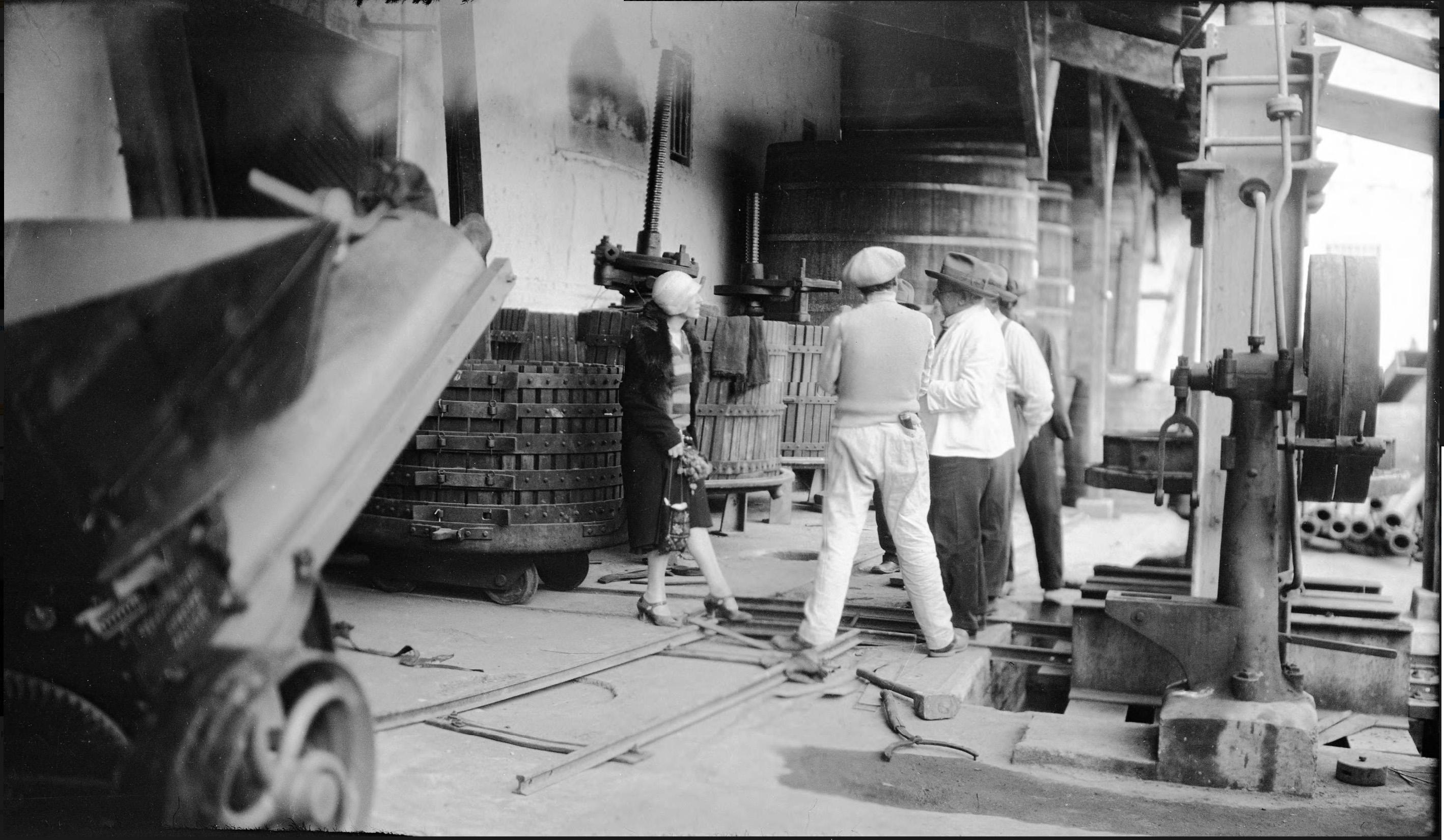 Enterreno - Fotos históricas de chile - fotos antiguas de Chile - Viña Conchalí, Santiago en 1930