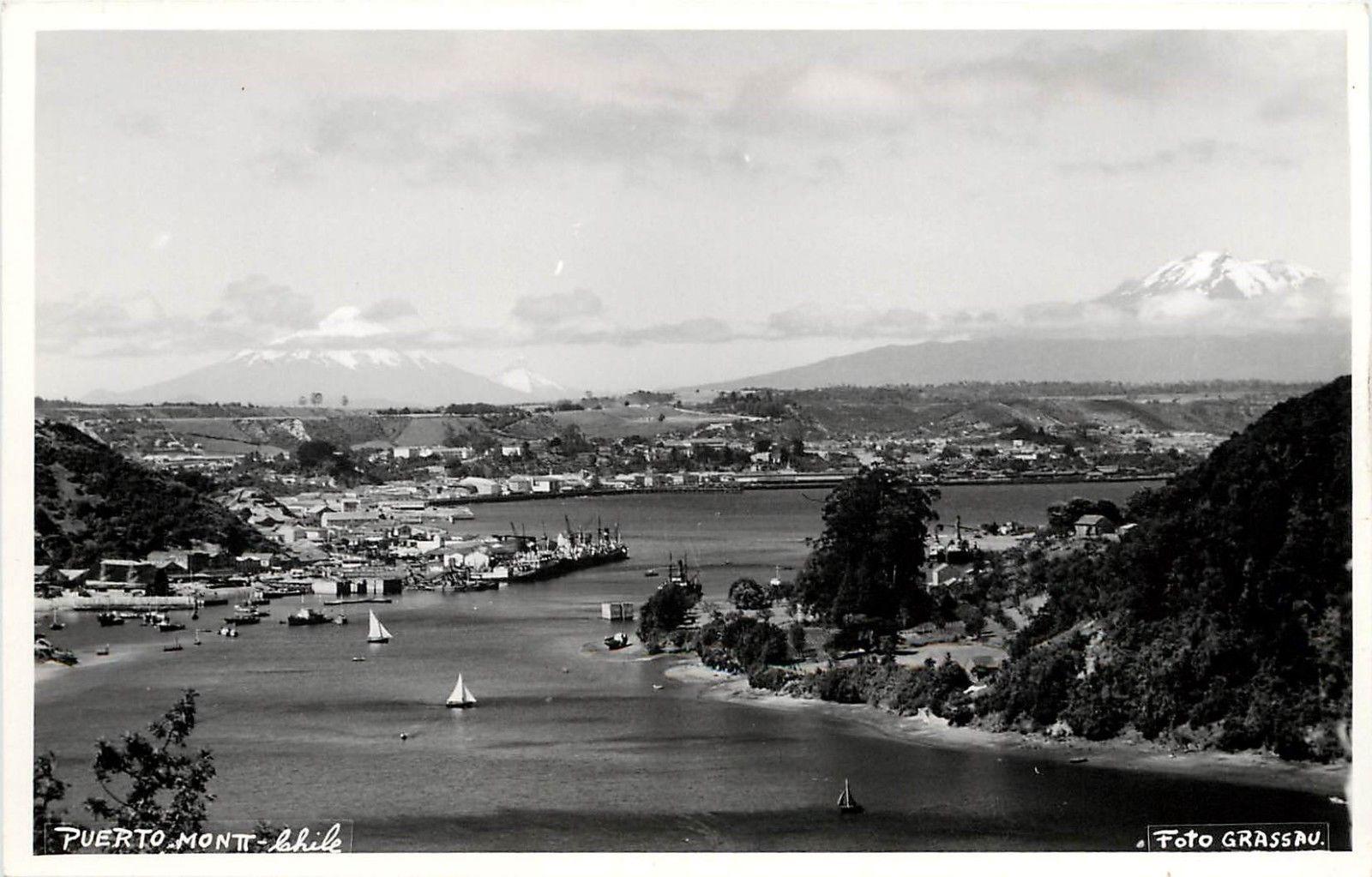 Enterreno - Fotos históricas de chile - fotos antiguas de Chile - Puerto Montt en 1935