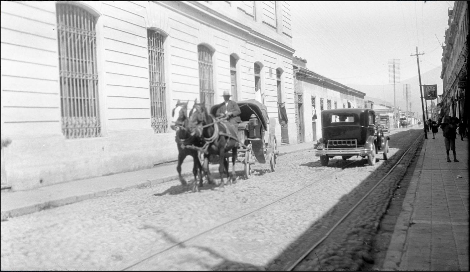 Enterreno - Fotos históricas de chile - fotos antiguas de Chile - San Felipe en 1930