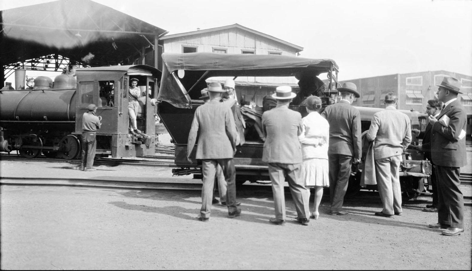 Enterreno - Fotos históricas de chile - fotos antiguas de Chile - Rancagua en 1930