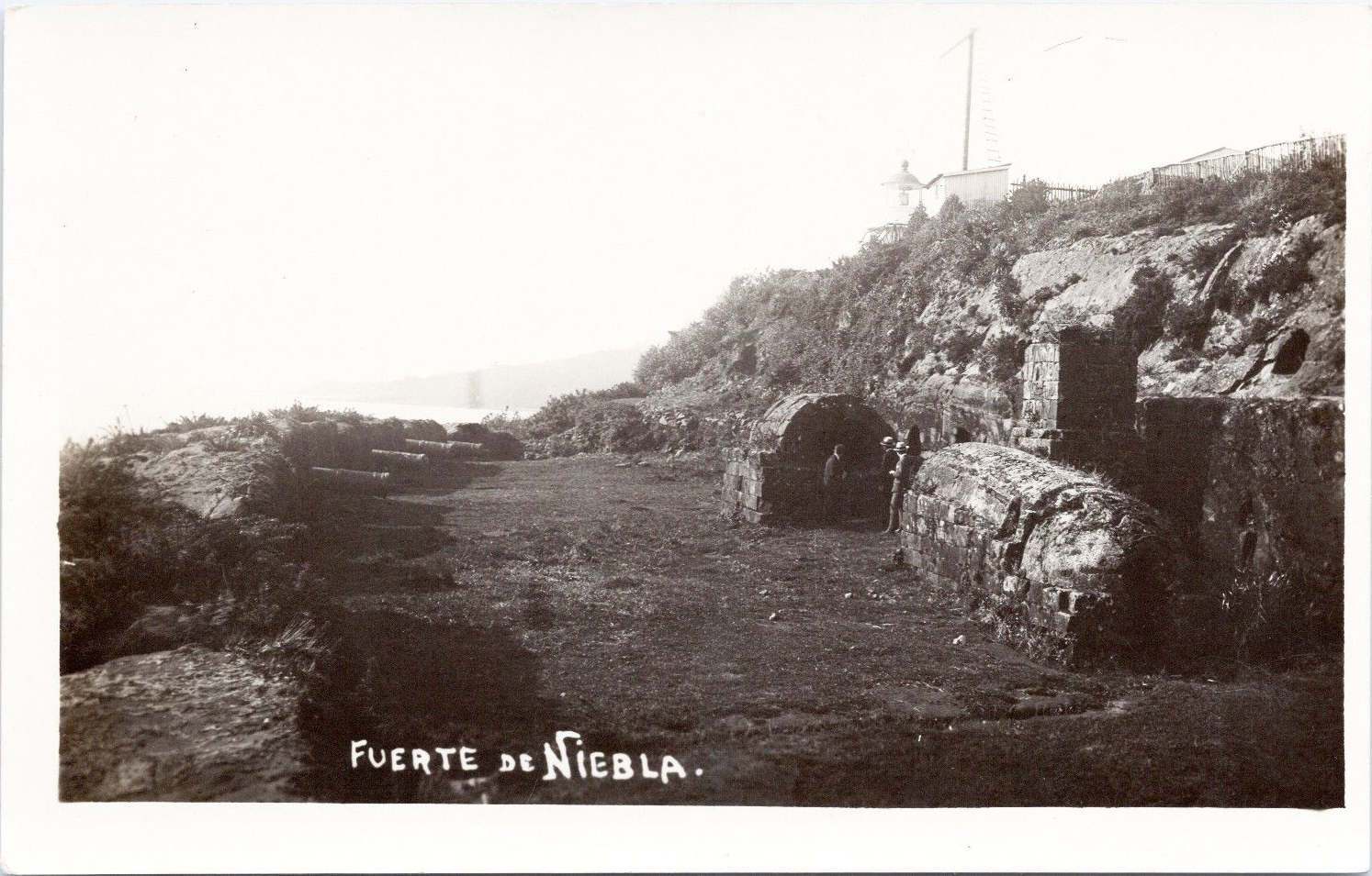 Enterreno - Fotos históricas de chile - fotos antiguas de Chile - Fuerte de Niebla, 1922