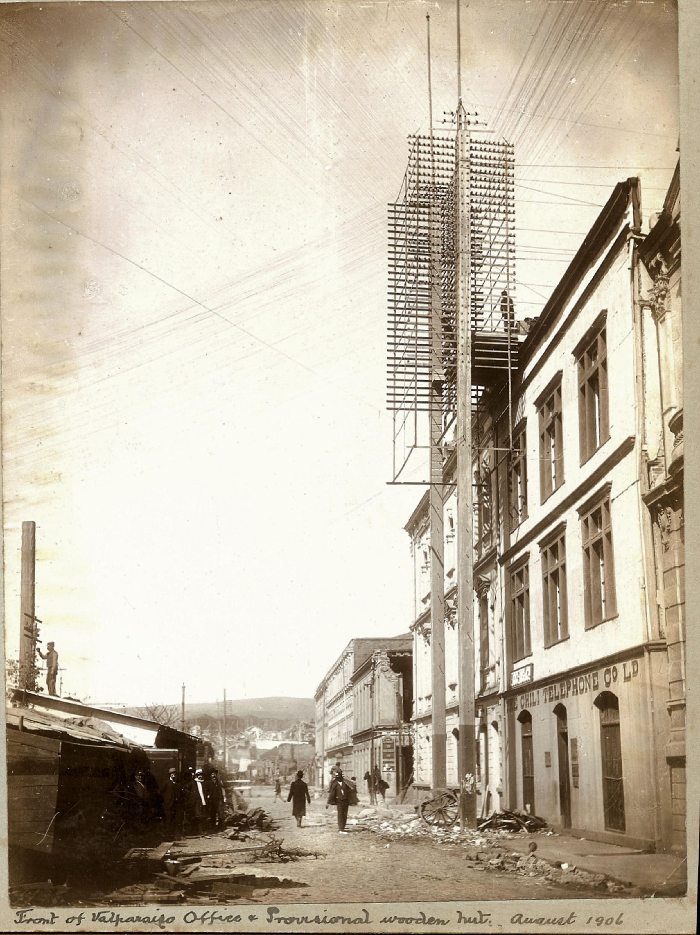Enterreno - Fotos históricas de chile - fotos antiguas de Chile - Valparaíso en 1906