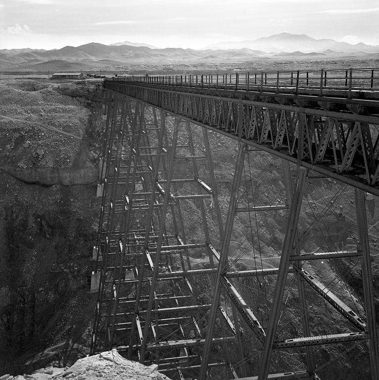 Enterreno - Fotos históricas de chile - fotos antiguas de Chile - Puente de Conchi