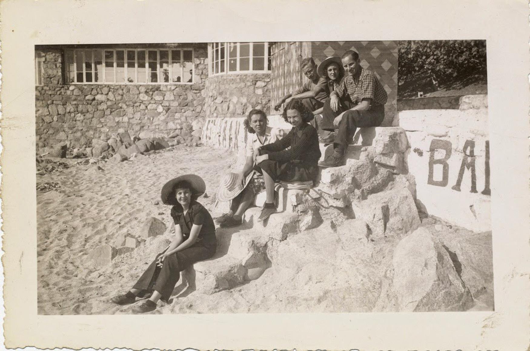 Enterreno - Fotos históricas de chile - fotos antiguas de Chile - Balneario Los Lilenes en Concón