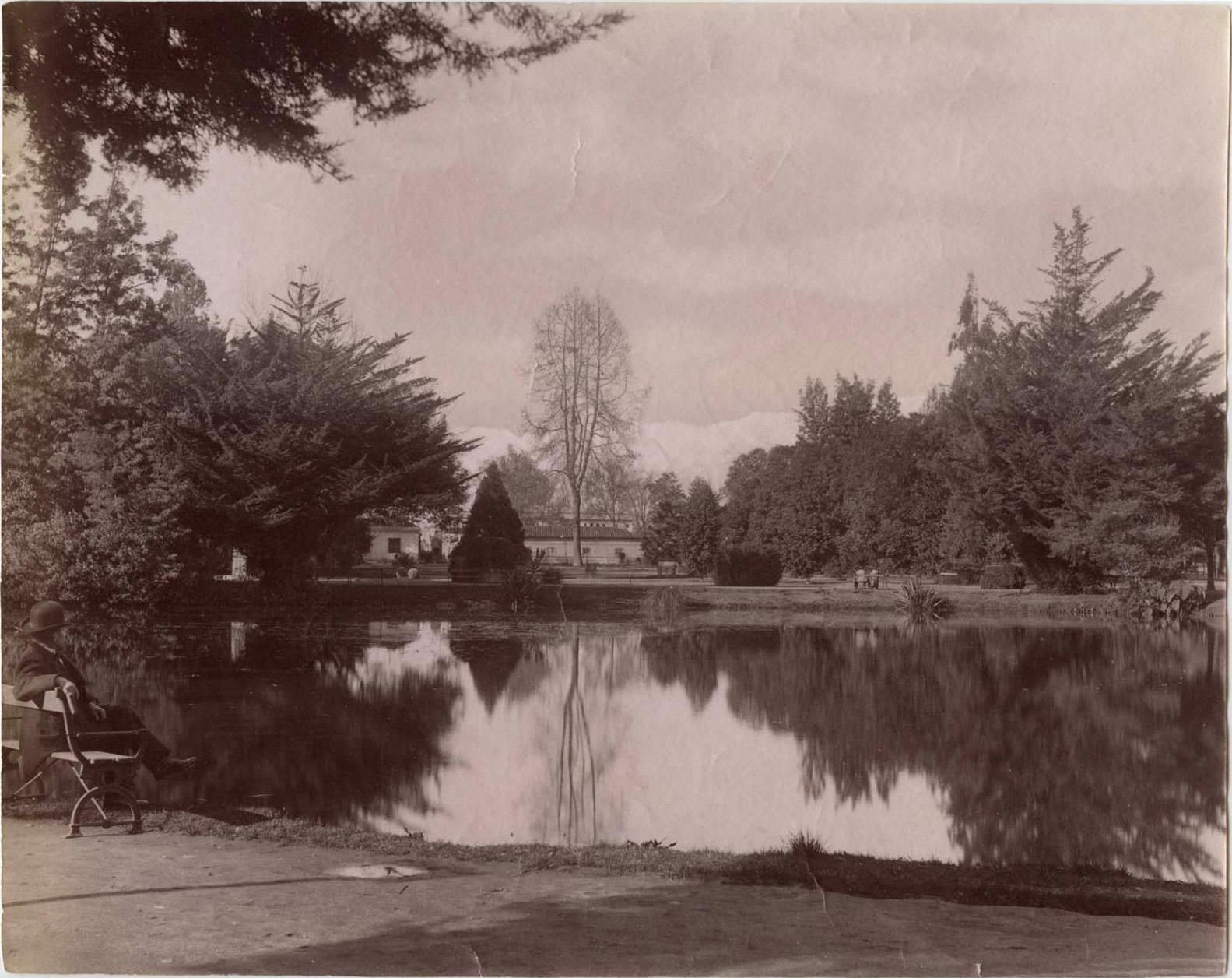 Enterreno - Fotos históricas de chile - fotos antiguas de Chile - Quinta Normal de Santiago, 1890