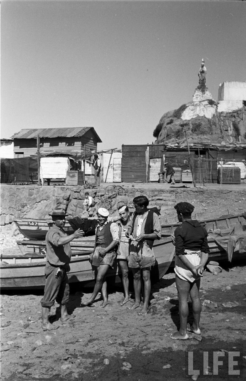 Enterreno - Fotos históricas de chile - fotos antiguas de Chile - caleta el membrillo