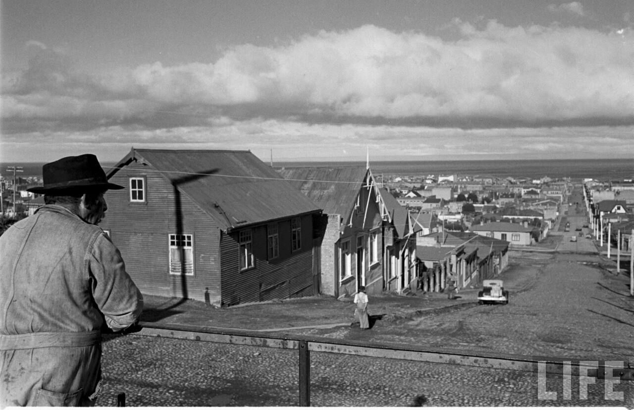 Enterreno - Fotos históricas de chile - fotos antiguas de Chile - punta arenas