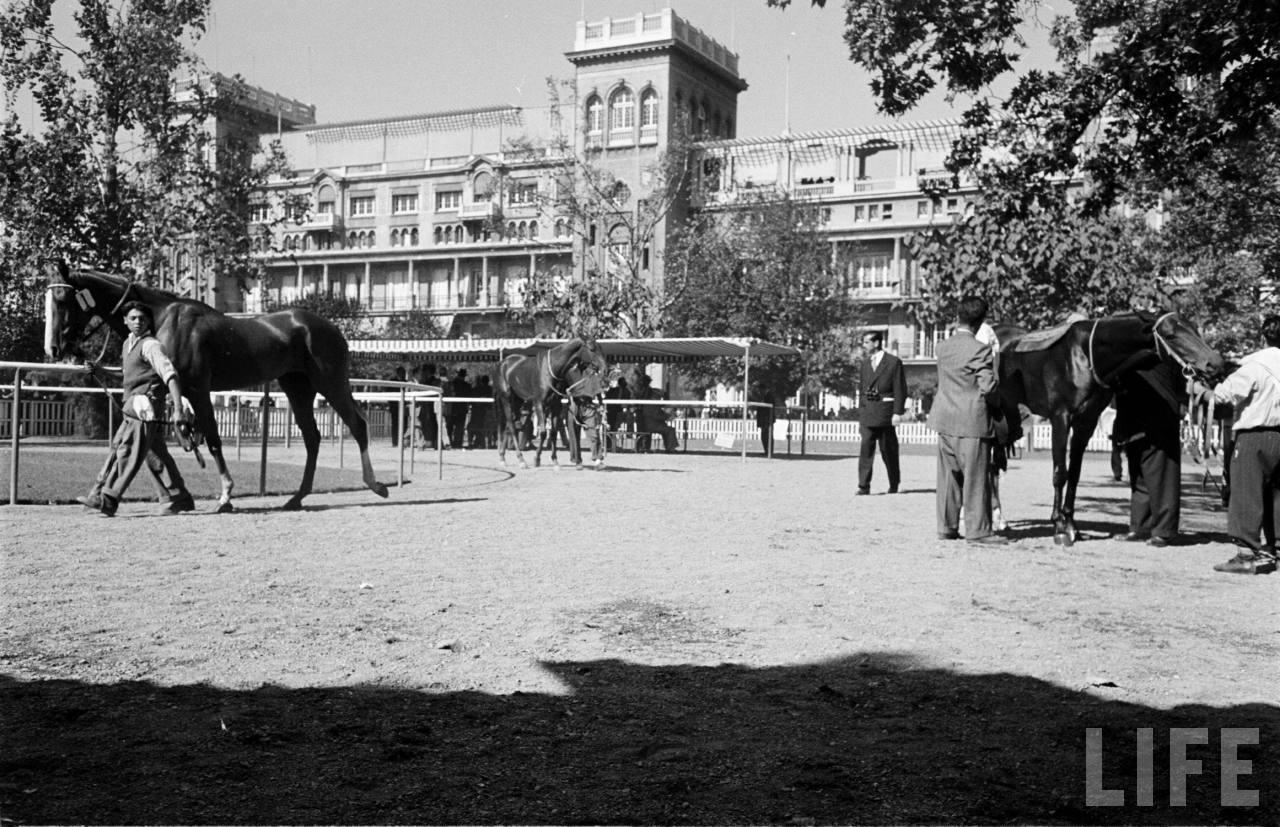 Enterreno - Fotos históricas de chile - fotos antiguas de Chile - club hípico