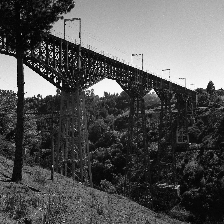 Enterreno - Fotos históricas de chile - fotos antiguas de Chile - Viaducto Malleco CA 1980