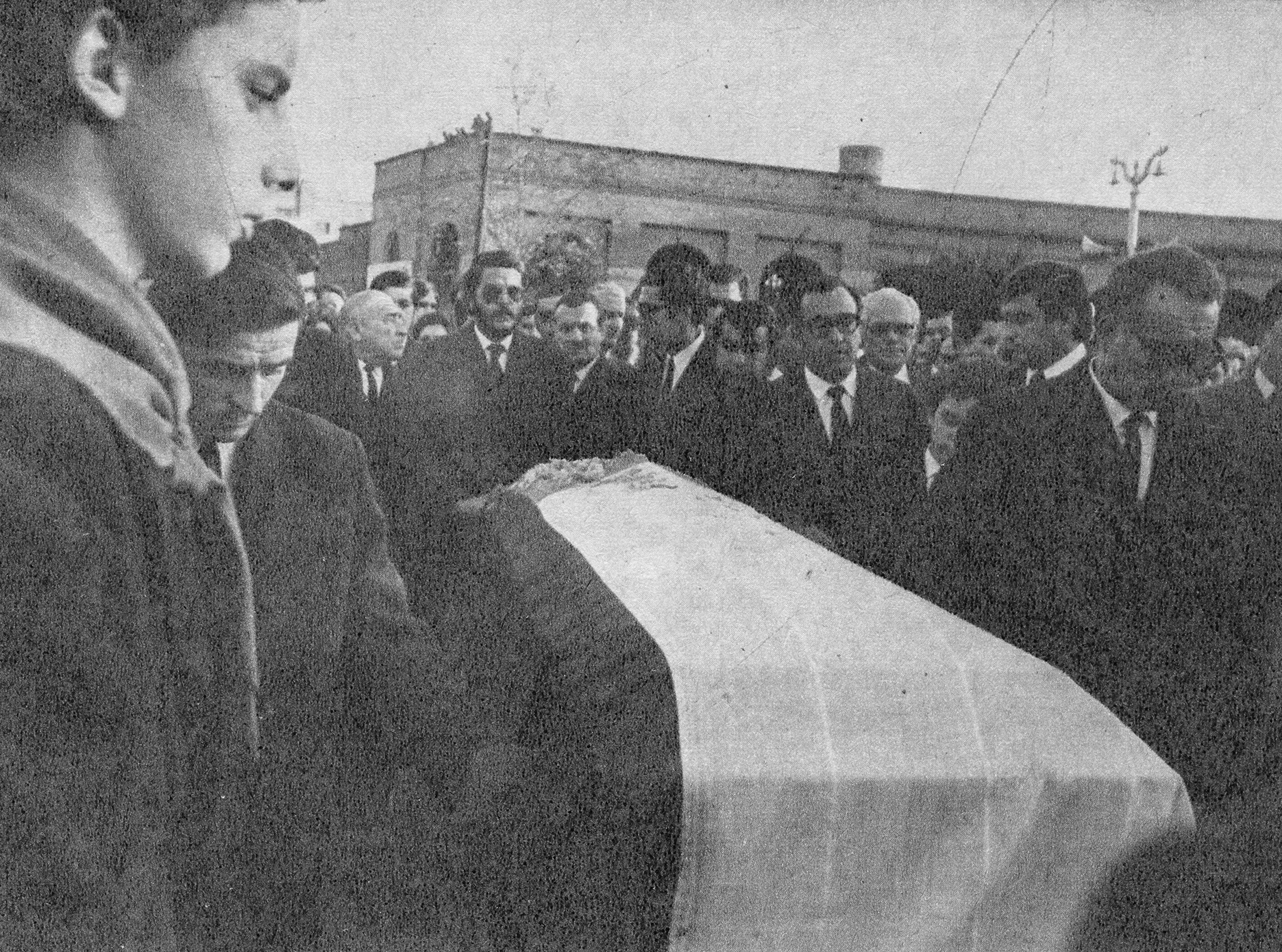 Enterreno - Fotos históricas de chile - fotos antiguas de Chile - Funeral del ex Ministro del Interior Pérez Zujovic