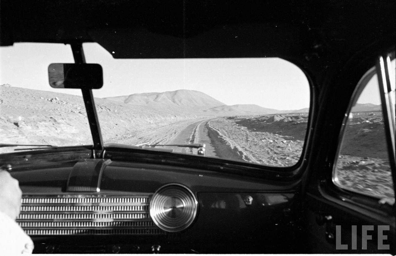 Enterreno - Fotos históricas de chile - fotos antiguas de Chile - Ruta en el norte
