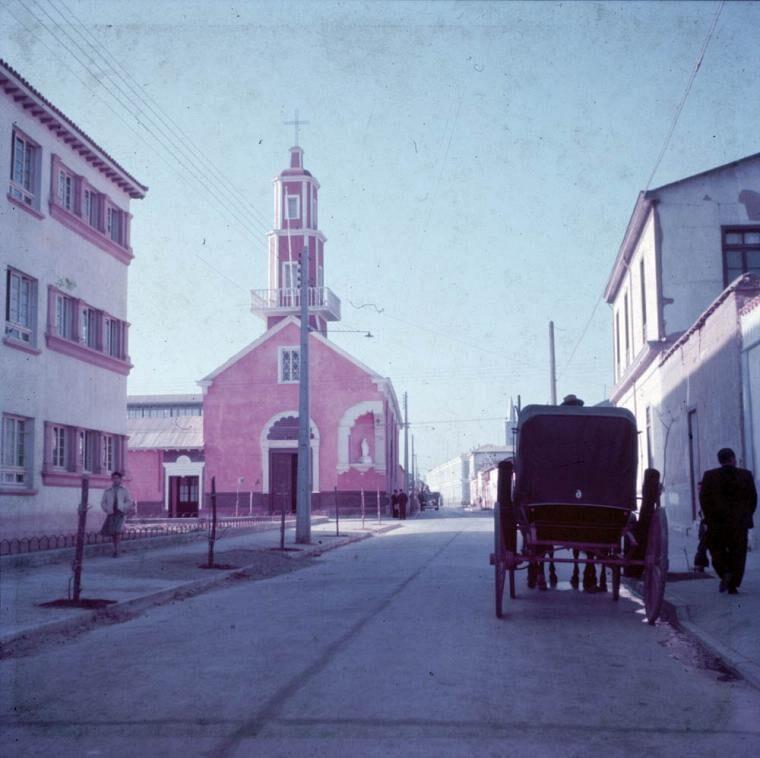 Enterreno - Fotos históricas de chile - fotos antiguas de Chile - Lugar sin identificar