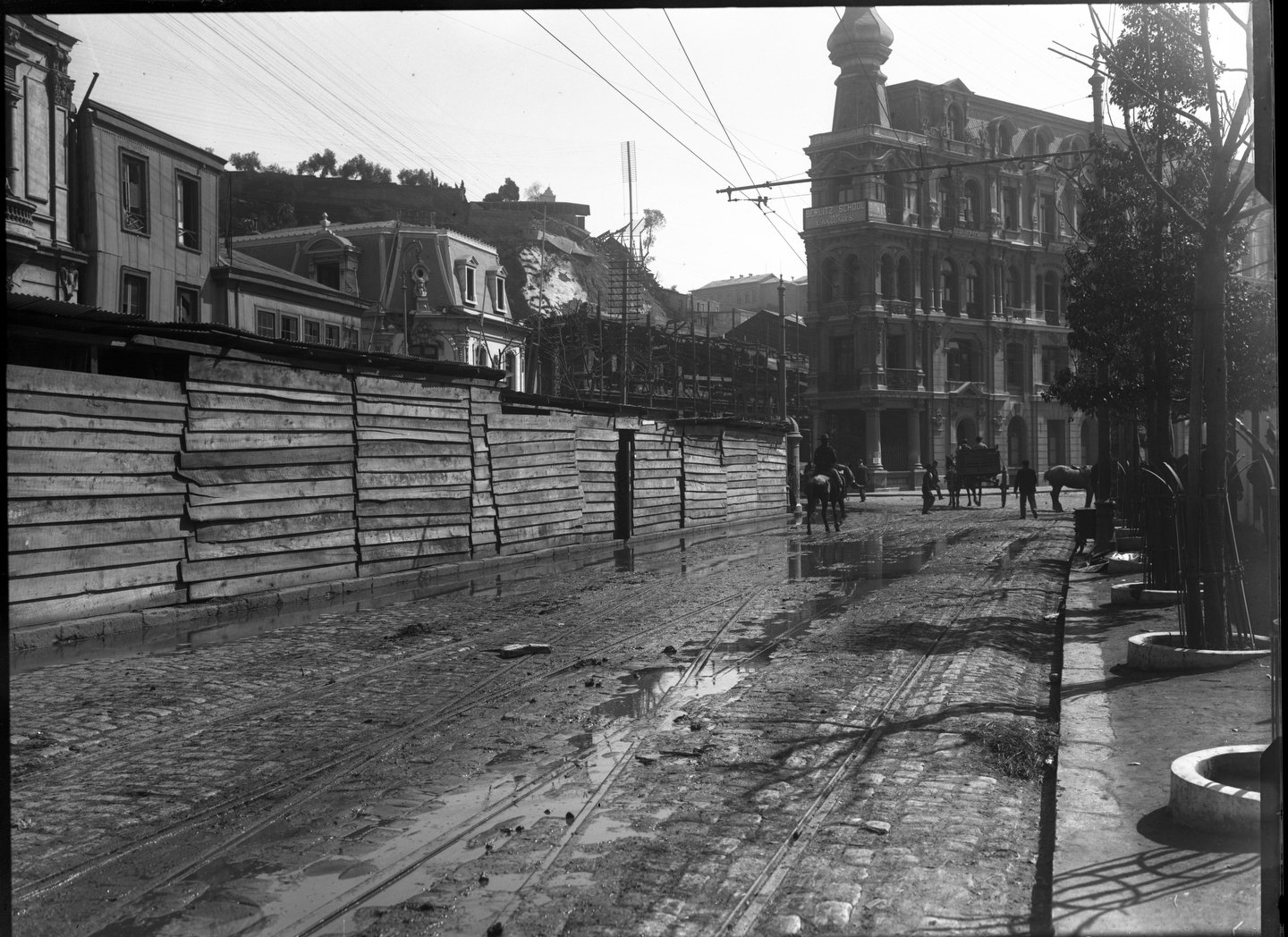 Enterreno - Fotos históricas de chile - fotos antiguas de Chile - Terremoto Valparaiso, 1906