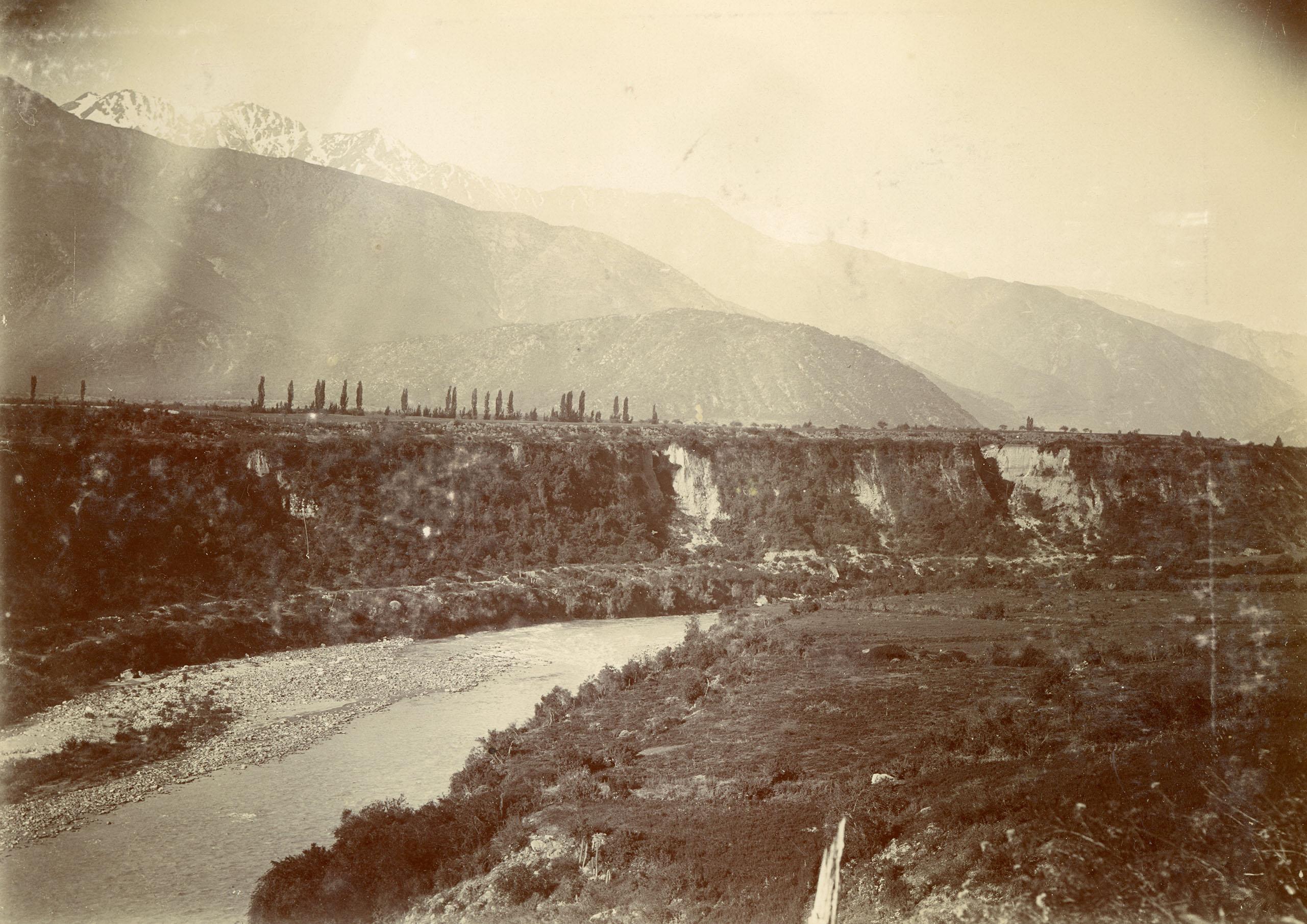 Enterreno - Fotos históricas de chile - fotos antiguas de Chile - Sectores de Pirque, CA 1904