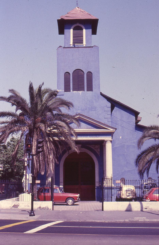 Enterreno - Fotos históricas de chile - fotos antiguas de Chile - Iglesia La Viñita, en 1975