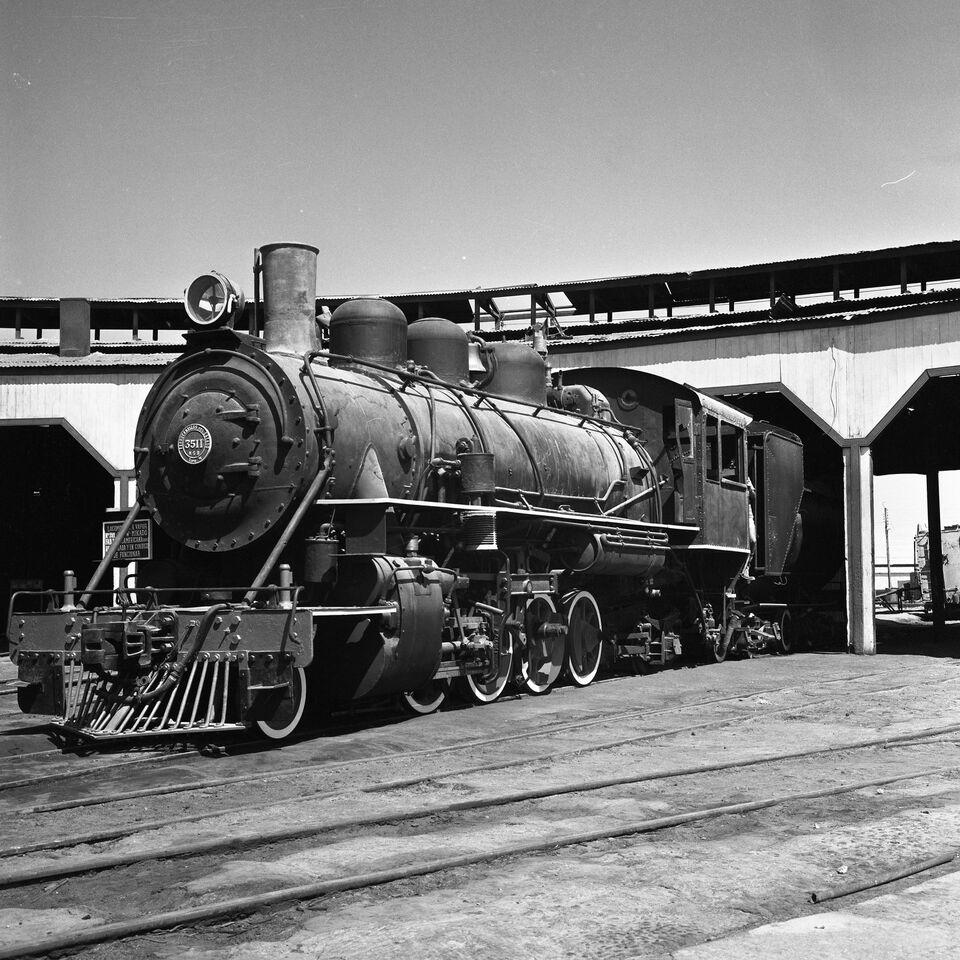 Enterreno - Fotos históricas de chile - fotos antiguas de Chile - Estación Baquedano de Antofagasta, sin año