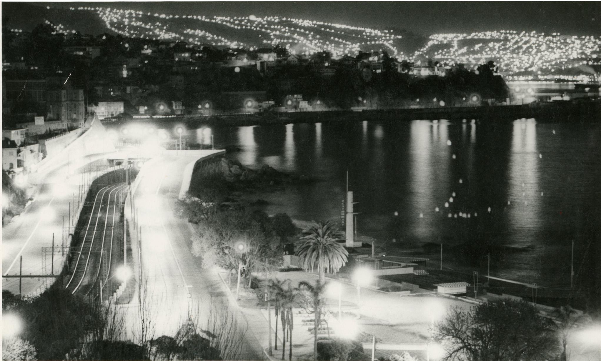 Enterreno - Fotos históricas de chile - fotos antiguas de Chile - Av España, Viña del Mar, 1973