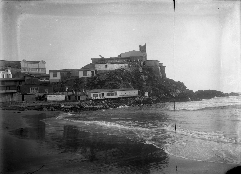 Enterreno - Fotos históricas de chile - fotos antiguas de Chile - Hotel Royal, Cartagena em ca 1910
