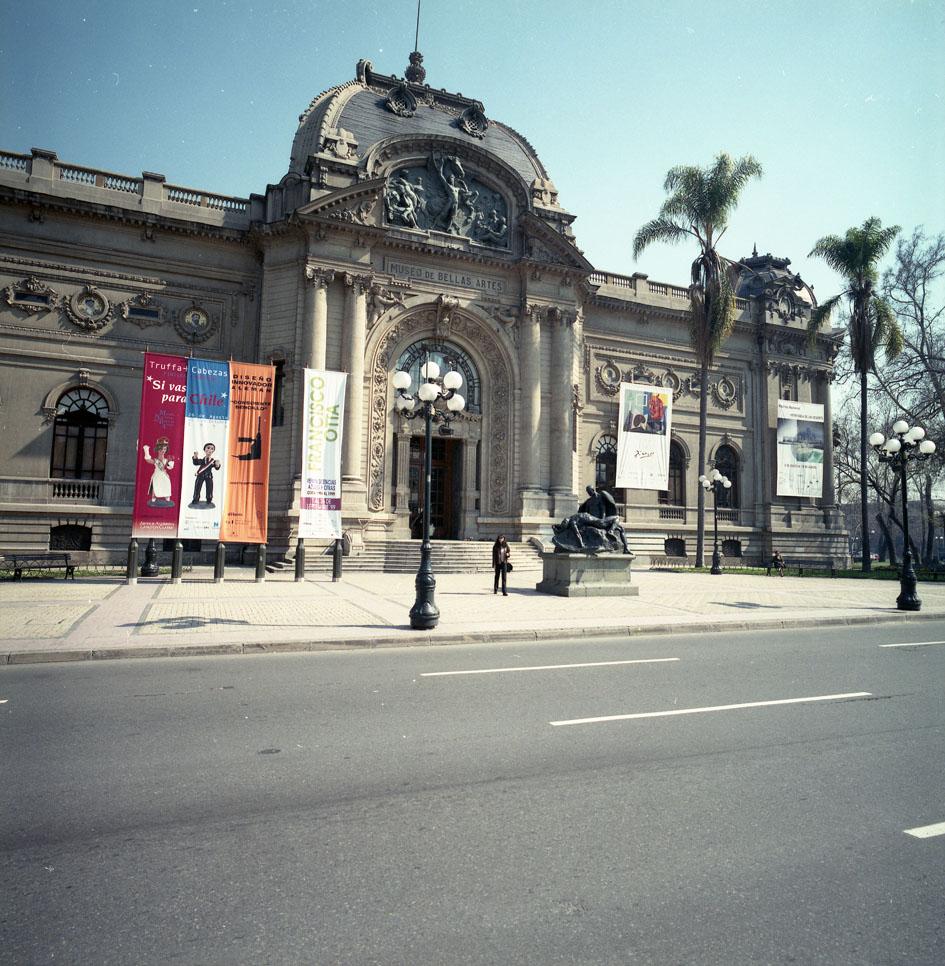 Enterreno - Fotos históricas de chile - fotos antiguas de Chile - Palacio Bellas Artes