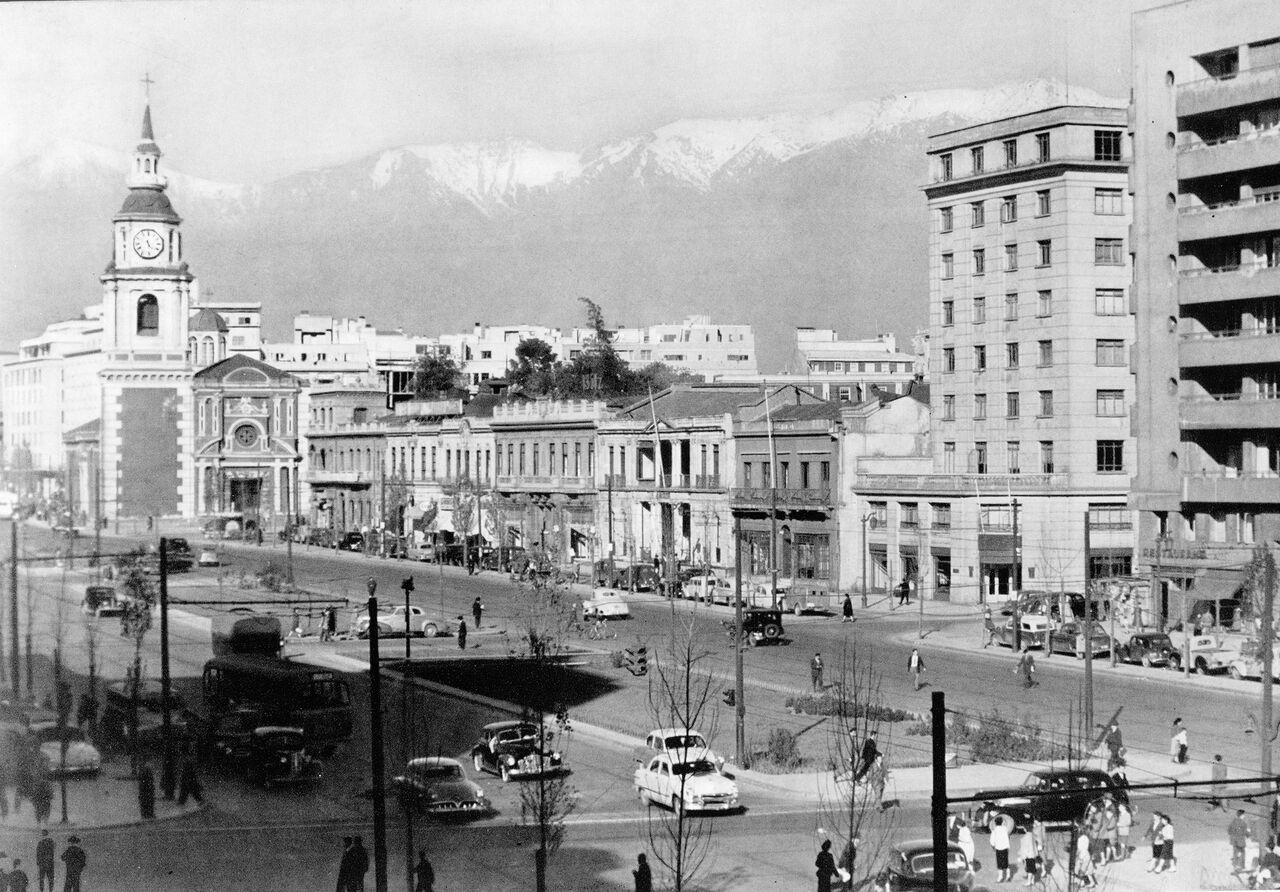 Enterreno - Fotos históricas de chile - fotos antiguas de Chile - Santiago