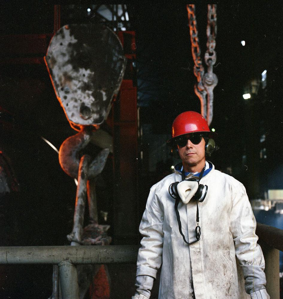 Enterreno - Fotos históricas de chile - fotos antiguas de Chile - Codelco, 1987