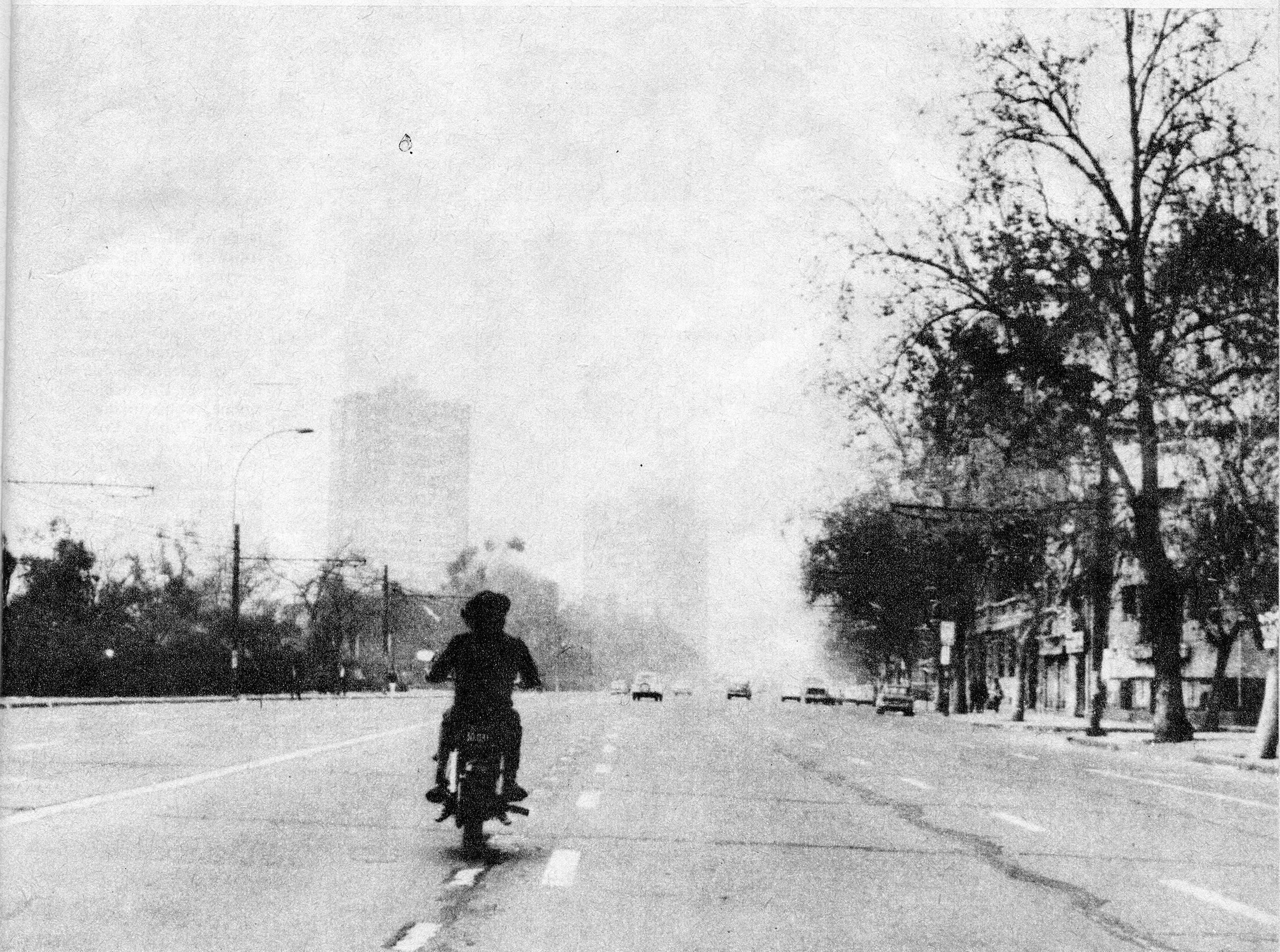 Enterreno - Fotos históricas de chile - fotos antiguas de Chile - El paro de Octubre, 1972