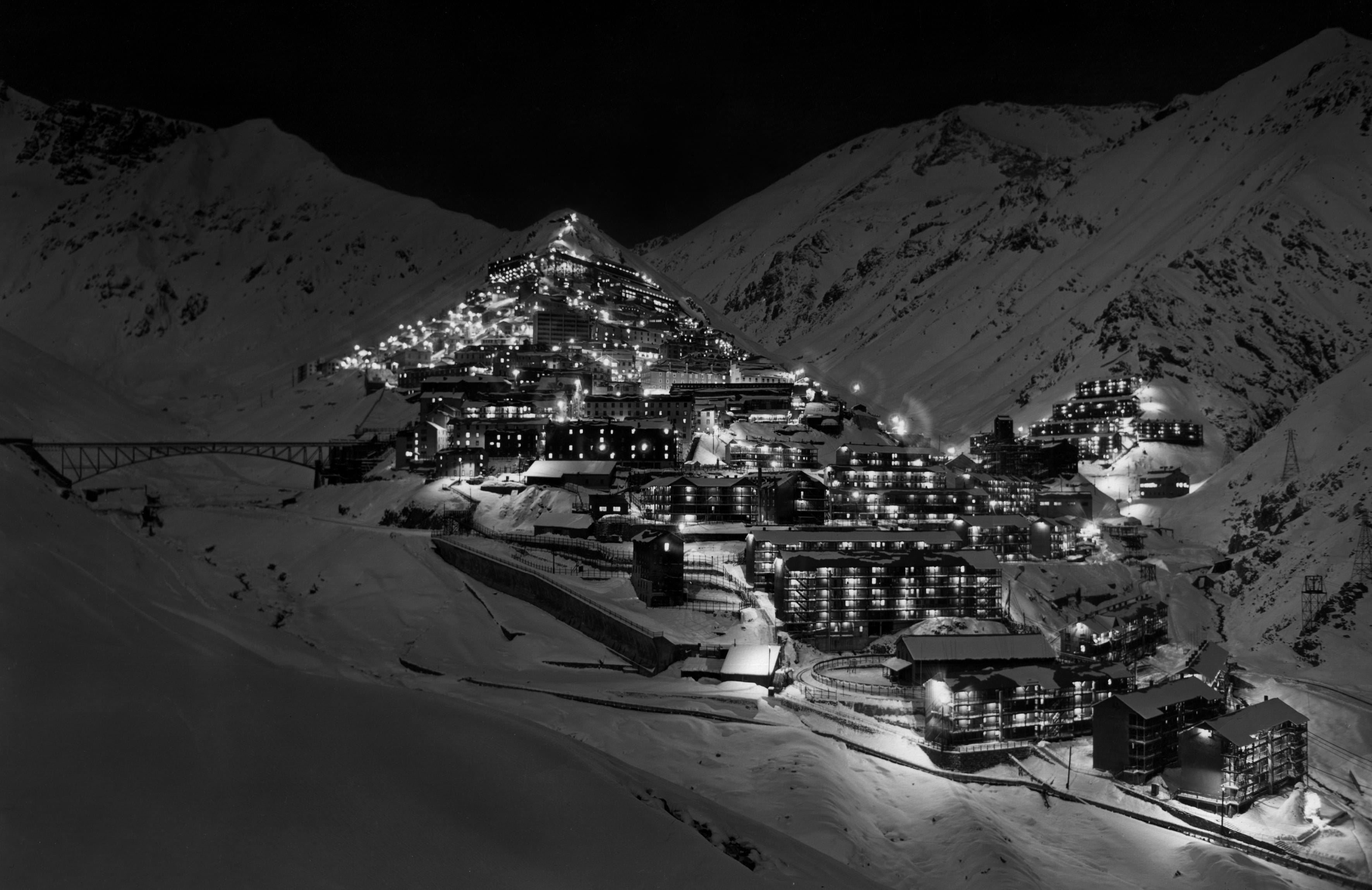Enterreno - Fotos históricas de chile - fotos antiguas de Chile - Sewell