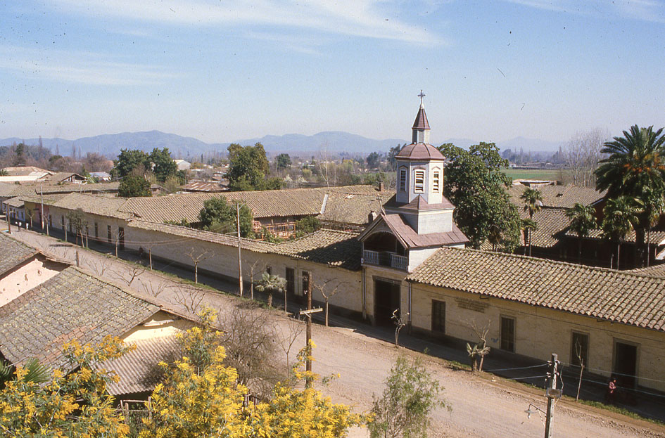 Enterreno - Fotos históricas de chile - fotos antiguas de Chile - Arquitectura Patrimonial - Casa Chilena