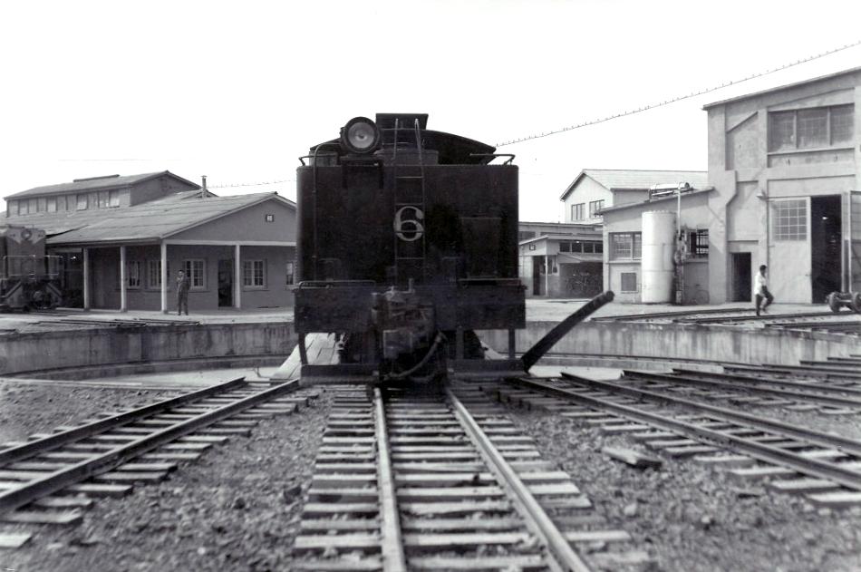 Enterreno - Fotos históricas de chile - fotos antiguas de Chile - Ferrocarril detenido en Sewell, ca. 1930