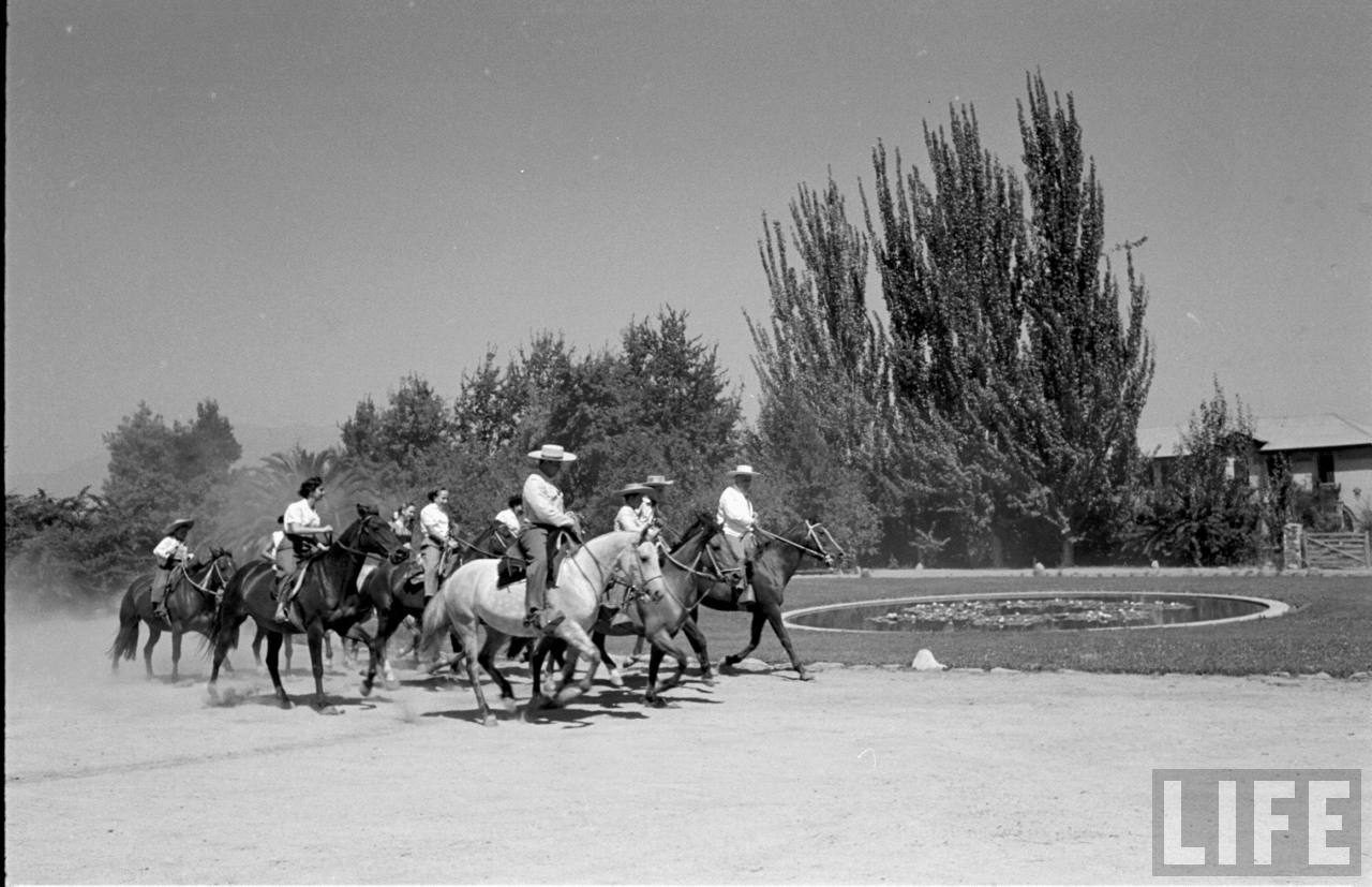 Enterreno - Fotos históricas de chile - fotos antiguas de Chile - Zona central, 1950