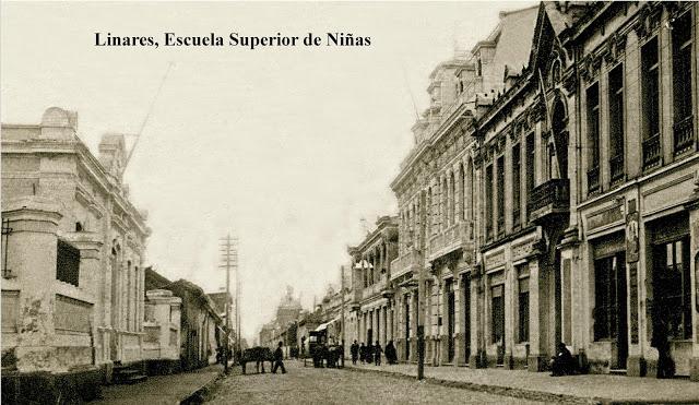Enterreno - Fotos históricas de chile - fotos antiguas de Chile - Palacio  Rozas de Linares en 1920
