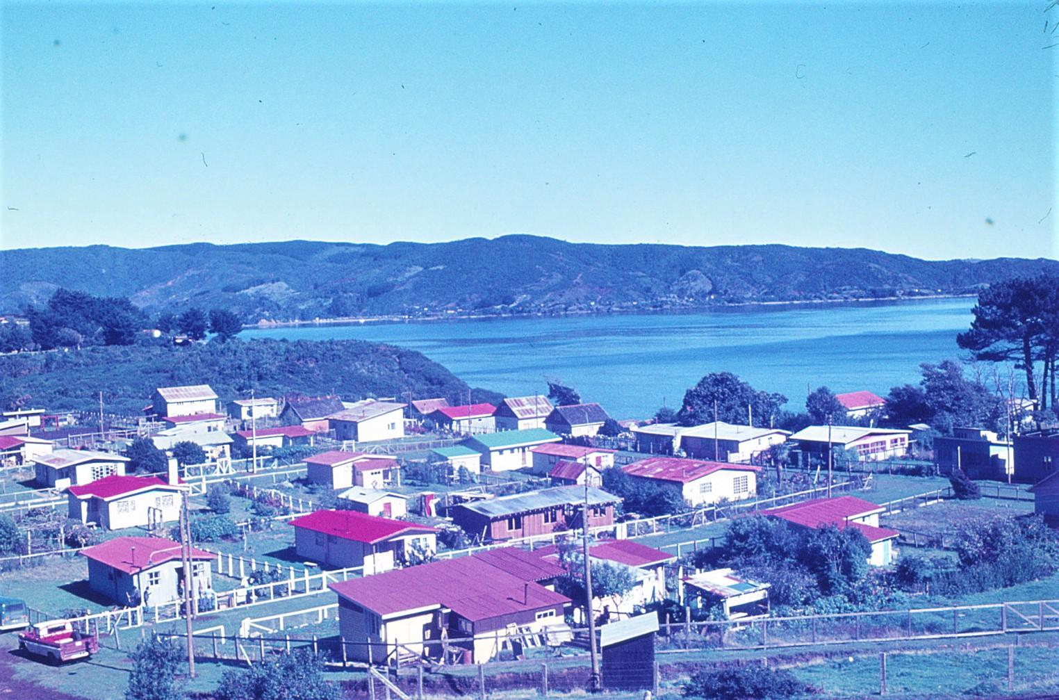 Enterreno - Fotos históricas de chile - fotos antiguas de Chile - Niebla ca. 1970