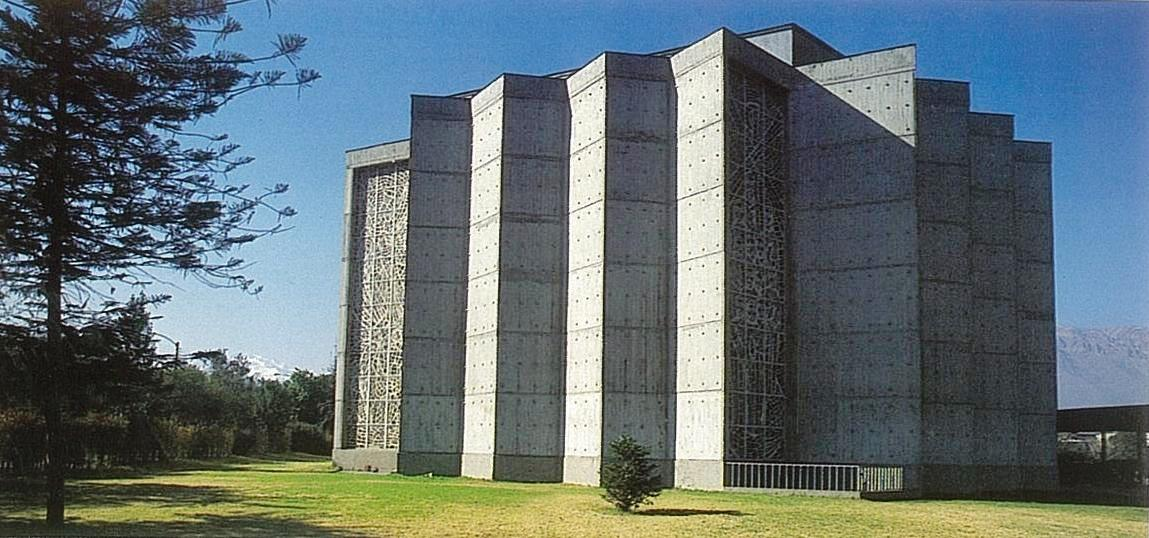 Enterreno - Fotos históricas de chile - fotos antiguas de Chile - Capilla del Verbo Divino en 1958