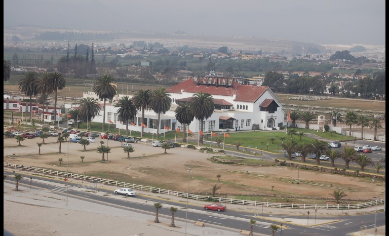 Enterreno - Fotos históricas de chile - fotos antiguas de Chile - Antiguo Casino Peñuelas, Coquimbo