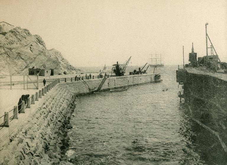 Enterreno - Fotos históricas de chile - fotos antiguas de Chile - Chañaral en 1925