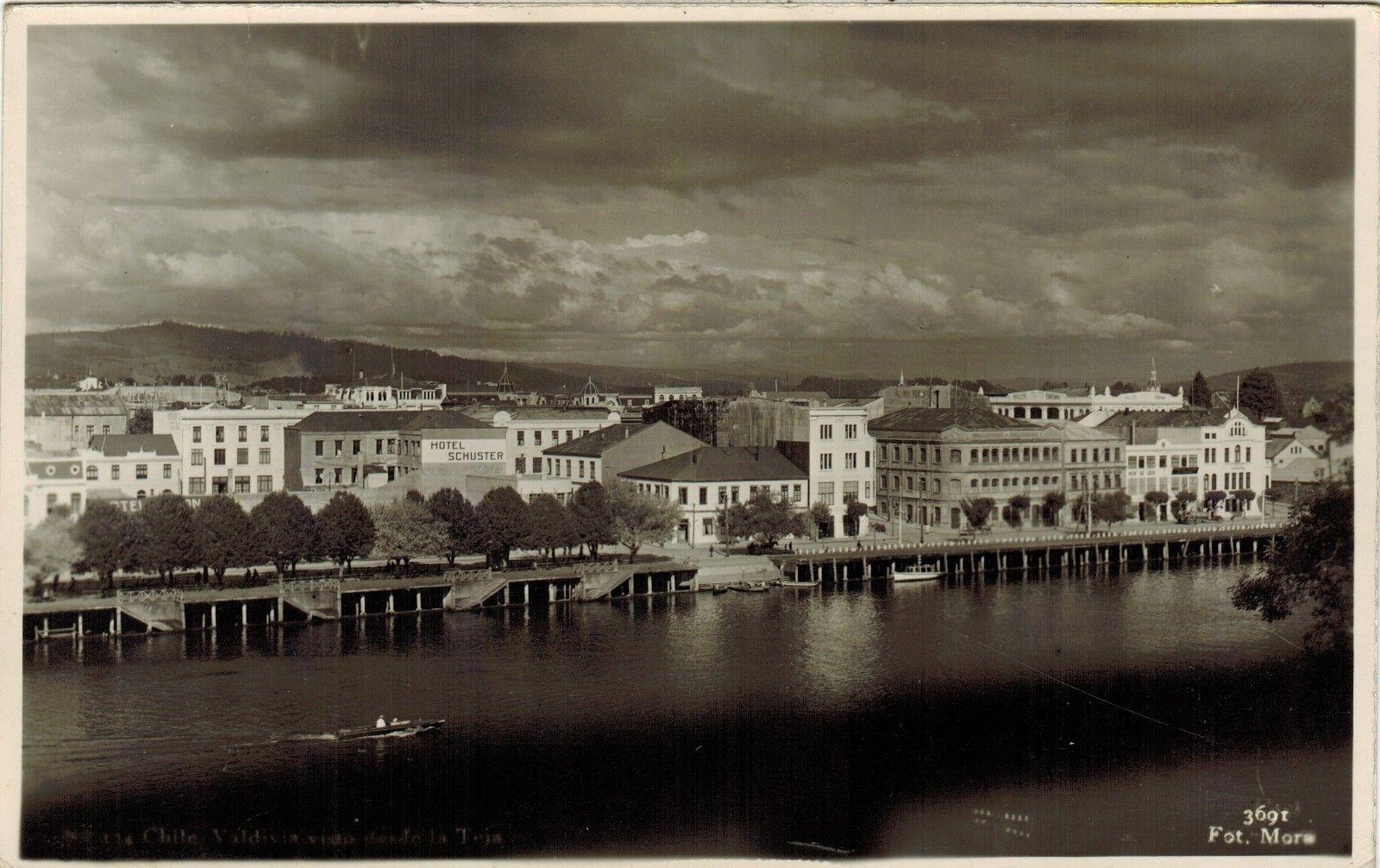Enterreno - Fotos históricas de chile - fotos antiguas de Chile - Valdivia, 1940