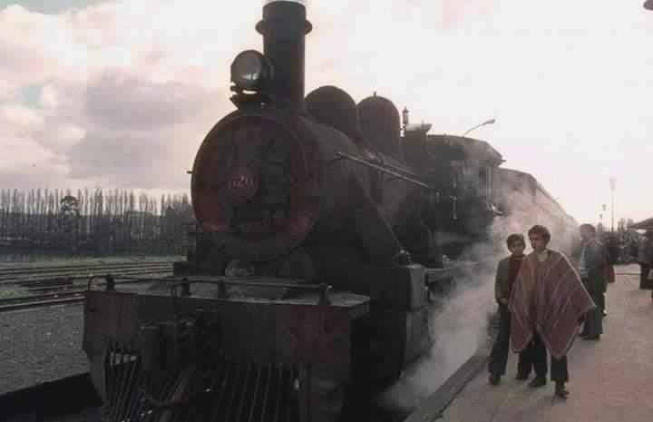 Enterreno - Fotos históricas de chile - fotos antiguas de Chile - Estación de Osorno en 1973.
