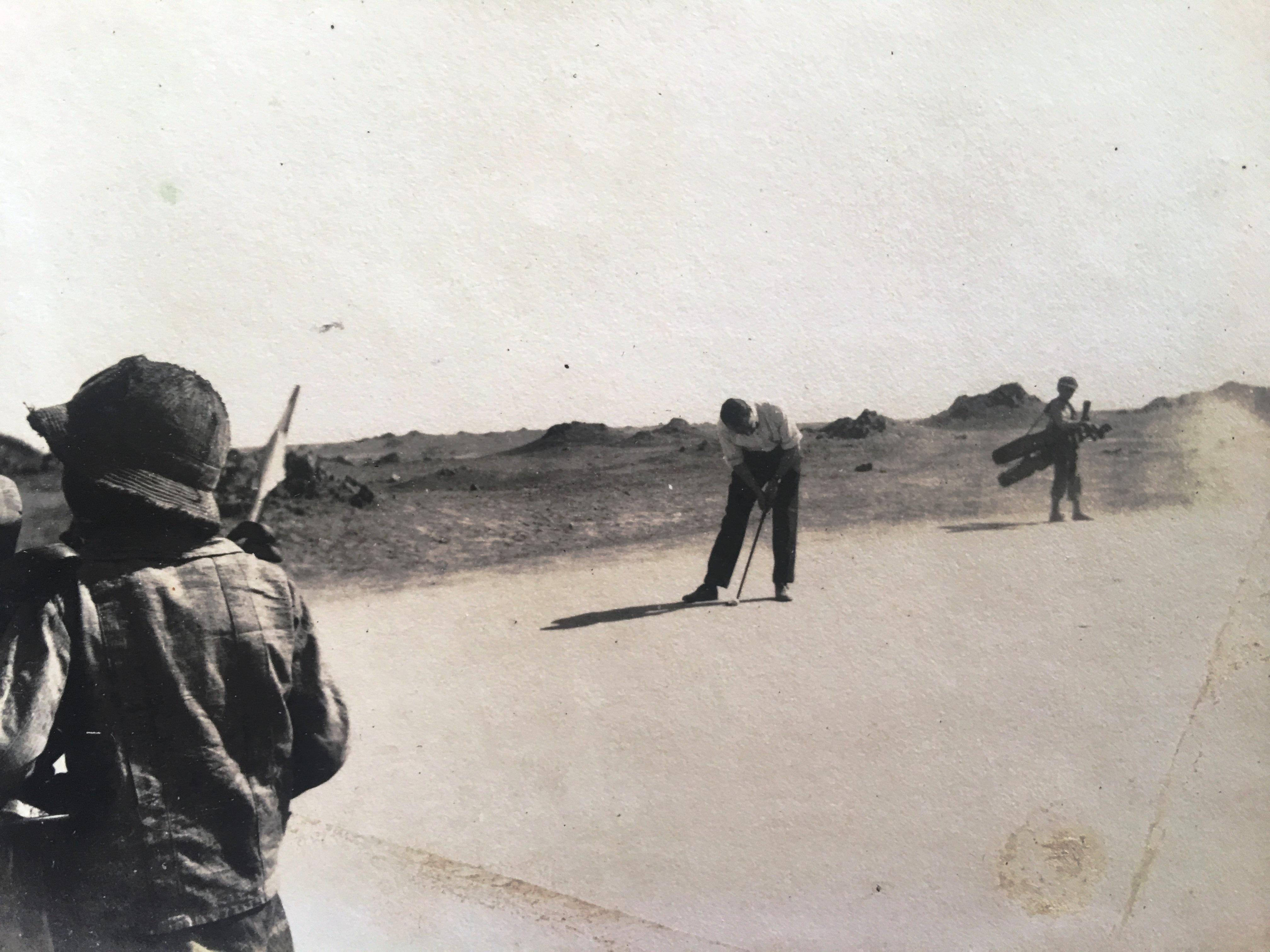 Enterreno - Fotos históricas de chile - fotos antiguas de Chile - Antofagasta Golf Club, 1921