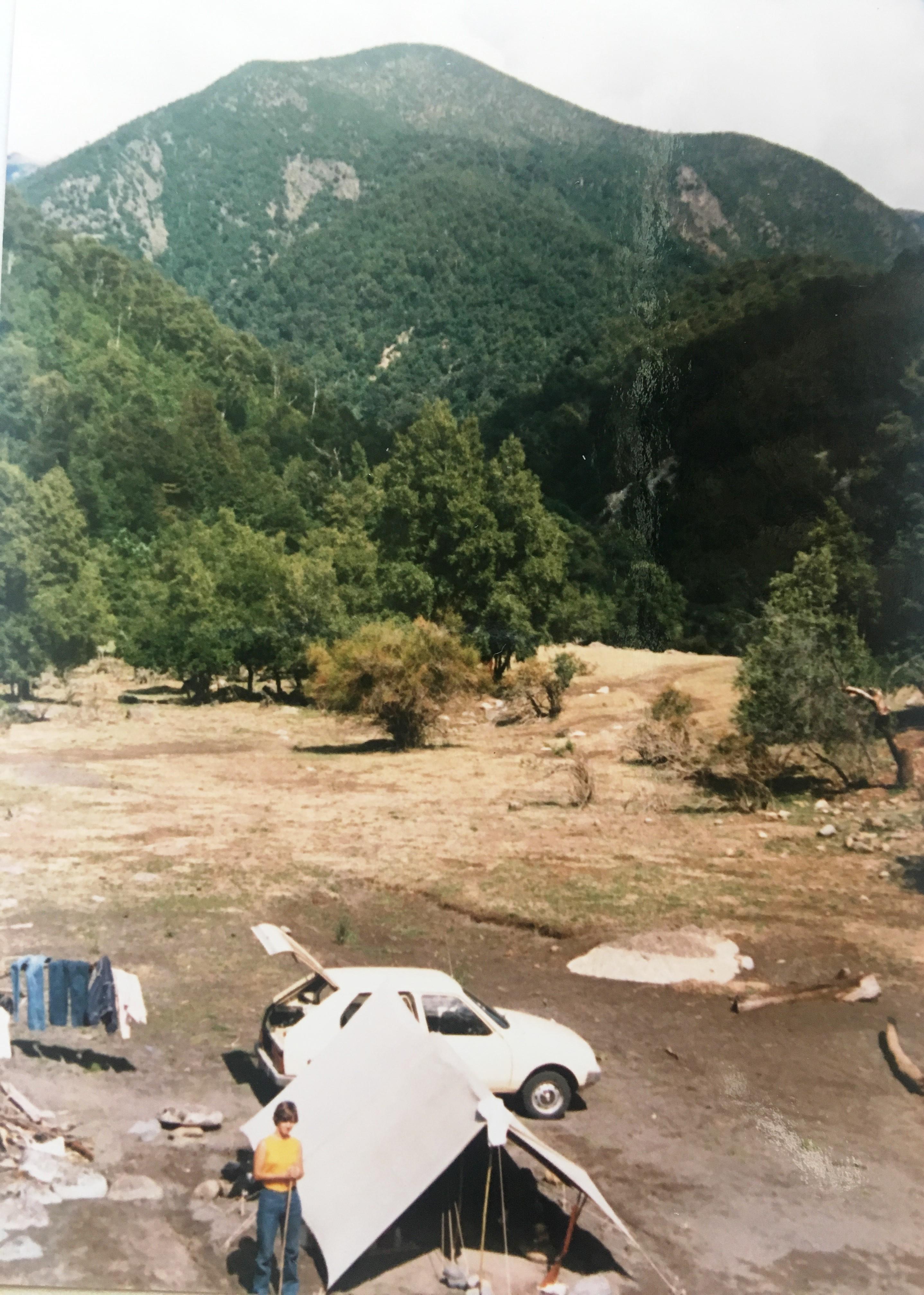 Enterreno - Fotos históricas de chile - fotos antiguas de Chile - San Fabián de Alico en 1983