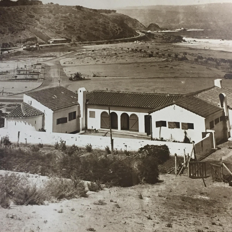 Enterreno - Fotos históricas de chile - fotos antiguas de Chile - Vista hacia Reñaca en 1940